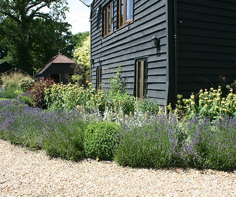 Traditional English Cottage Garden Design in West Sussex