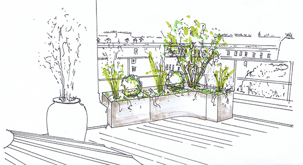 Garden designer elemental designs garden design for Garden design services