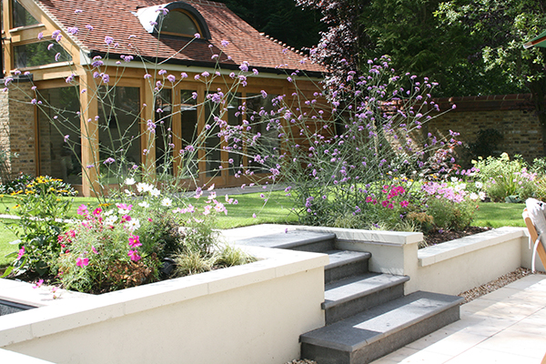 Contemporary design in wimbledon london sw20 for Garden design and planting