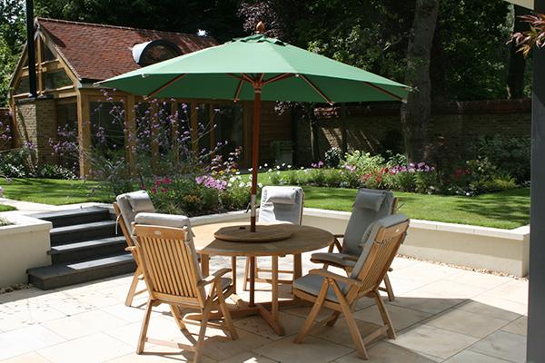 Sunken outdoor seating area elemental designs for Sunken outdoor seating