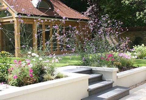 We undertake garden design and build projects across the South